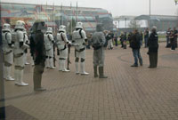 Stormtroopers outside the NEC