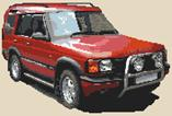 Land Rover Discovery Cross Stitch Kit