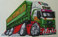 Eddie Stobart Cross Stitch Kit