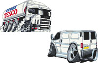 Next Month will feature Lorries and Vans again!