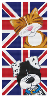 Harry & Friends Cross Stitch Kits