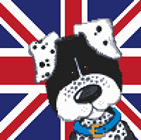 Harry & Friends Spotty Dog Cross Stitch