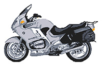 BMW R1150RT 2004 Motorcycle Cross Stitch Kit