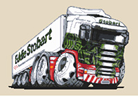 Eddie Stobart Refrigerated Cross Stitch Kit