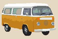 Detailed Camper Van design