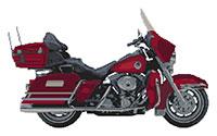 Harley Davidson Ultra Glide Anniversary Edition Cross Stitch Kit
