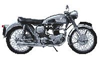Norton Dominator Motorbike Cross Stitch Kit