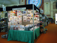 The Stitchtastic stand at Alexandra Palace