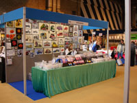 The Stitchtastic stand at Sewing for Pleasure